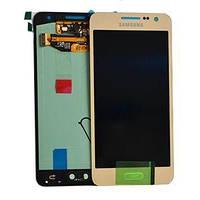 Дисплей Samsung Galaxy A3 SM-A300F Original complete Gold