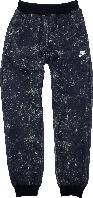 Штаны спортивные на мальчика с начесом ТМ New Point синие размер 146