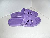 Новые фиолетовые женские шлепанцы. р. 36, 37, 41