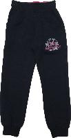 Спортивные штаны детские на девочку Wanhill синие размер 92 98 104 110 116 122