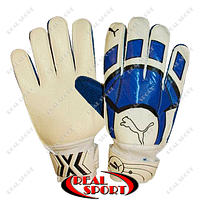 Перчатки вратарские Puma FB-0037-01B (PVC, р-р 10)