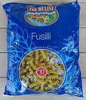 Макароны спиральки, Fusilli (Tre Mulini) 0,5 кг