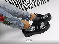 Женские брендовые туфли-броги, реплика