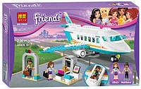 Конструктор Bela 10545 Френдс Частный самолет в Хартлейк (аналог Lego Friends 41100)