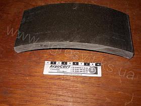 Накладка тормозная (колеса) Т-150 к, арт. 125.38.102-А (шт.)