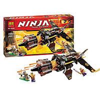 """Конструктор Bela Ninja (аналог Lego Ninjago) 10322 """"Истребитель Коула"""", 234 детали"""