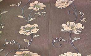 Обои бумажные, крупный рисунок, цветы, Деми 1262, 0,53*10м, фото 2