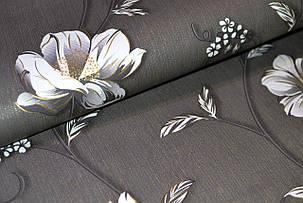 Обои бумажные, крупные цветы, Деми 1261, 0,53*10м, фото 2