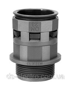 Муфта труба - коробка, IP66/IP68 д.12, черная, DKC PAM12M16N