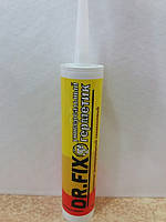 Герметик силиконовый универсальный Dr.Fix  280 мл белый