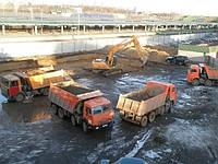 Стоимость работ - Вывоз грунта - Самосвалы, Экскаваторы