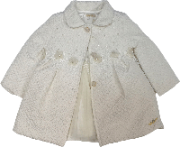 Пальто весеннее для девочки + платье нарядное ТМ Bebyrose размер 80-86