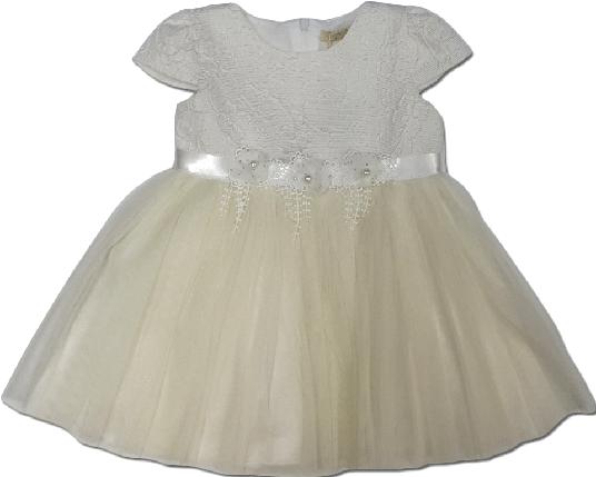 Пальто весеннее для девочки + платье нарядное ТМ Bebyrose размер 80-86, фото 2