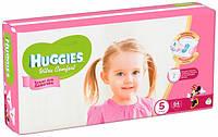 Подгузники Huggies Ultra Comfort 5 (12-22кг) 64 шт для девочек