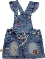 Детский сарафан джинсовый Oryeda bebe голубой размер  92