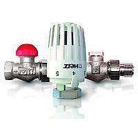 Прямой термостатический комплект HERZ Project DN 1/2