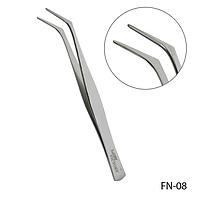 Пинцет FN-08 для зажима искусственных ногтей,