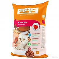 Сухой корм для котов мясное филе 11 кг