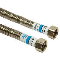Шланг для колонки нерж. ГГ 1/2. 120см DN12 Eco-flex. Для воды