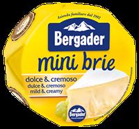 Сыр Bergader mini brie dolce e cremoso 150г