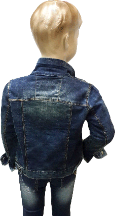 Весенняя куртка джинсовая для мальчика MG&T размер 104 110 116 122 128 134 140 , фото 2