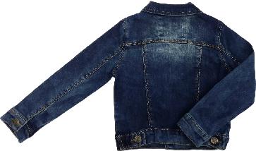 Весенняя куртка джинсовая для мальчика MG&T размер 104 110 116 122 128 134 140 , фото 3