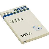 Блок для заметок Buromax 76x127мм 100л желтый (BM.2314-01)