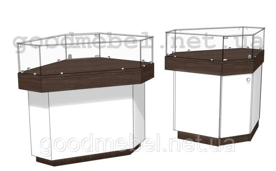 Прилавок 4-04 (УНБ) - ГУДМЕБЕЛЬ торговое оборудование и корпусная мебель в Киеве