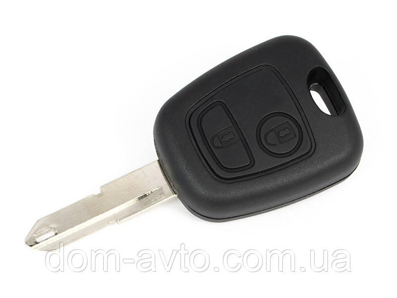 Корпус ключа Peugeot 106 206 306 Partner