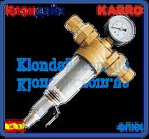 Магистральный самопромывной фильтр для холодной воды  1  Karro (Испания)