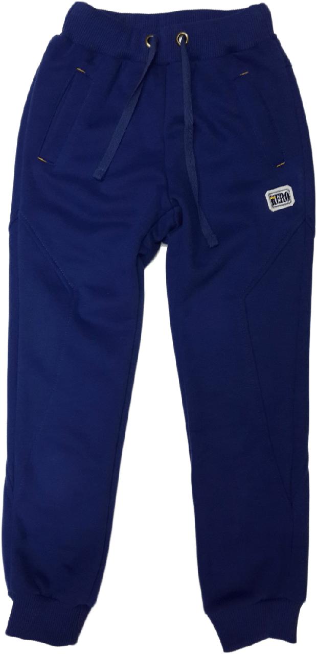 Штаны спортивные для мальчика Bembi ШР384 флис размер 122 128