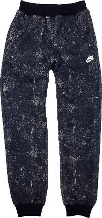 Штаны спортивные на мальчика с начесом ТМ New Point синие размер 146, фото 2