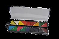 Краски акварельные ZiBi 18 цветов пласт./кор., без кисточки черная коробка (ZB.6523-01)