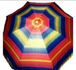 Пляжный зонт 2 м Anti-UF с наклоном