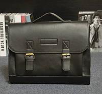Стильный мужской портфель из PU кожи