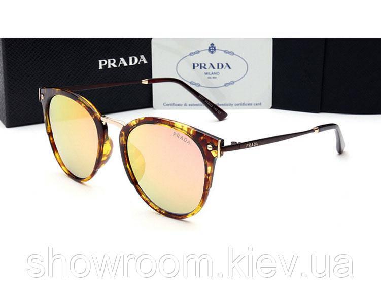 Солнцезащитные очки в стиле PRADA (2207) red