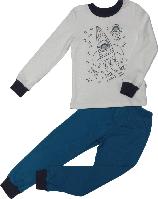 Пижама детская ТМ Бемби ПЖ39 бирюзовая размер 116