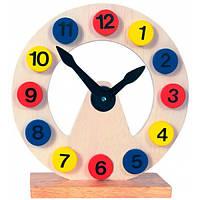 Bino Обучающая игрушка Bino Часы (84050)