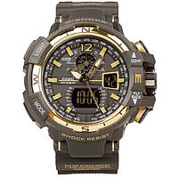 Спортивные часы Casio G-Shock GW-A1100(Black gold)