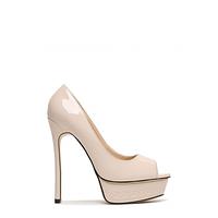 Туфли с открытым носком на высокой шпильке VICES оптом 36-41 (цвета разные)