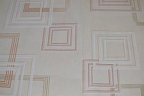 Обои, бумажные, квадраты, светлый, рисунок,  Джем 1256, 0,53*10м, фото 2