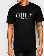 Футболка Obey Worldwide logo one