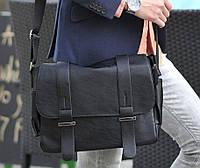 Мужская сумка из экокожи 35*28*12 см