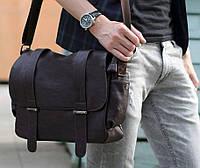 Мужская сумка формата А4. Размер 35,5-28-10 см