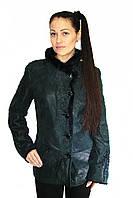 Дубленка  женская Oscar Fur  380 Зеленый , фото 1