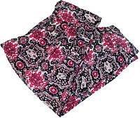 Капри летние c карманами, широким поясом и манжетами размер №2