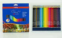 Коробка цветных карандашей 24 шт