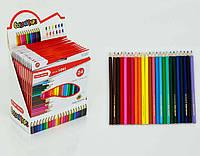 Цветные карандаши набор 24 цвета