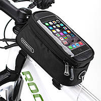 """Велосипедный держатель для смартфонов ROSWHEEL, универсальный (до 5.0"""")"""
