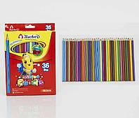 Цветные карандаши набор 36 шт